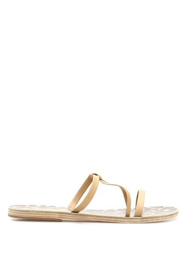 Ancient Greek Sandals Terlik Krem